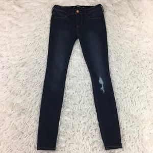 Hollister Skinny Legging Jeans Dark Wash Size 26